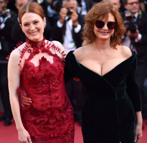 julianne moore susan sarandon cannes 2017