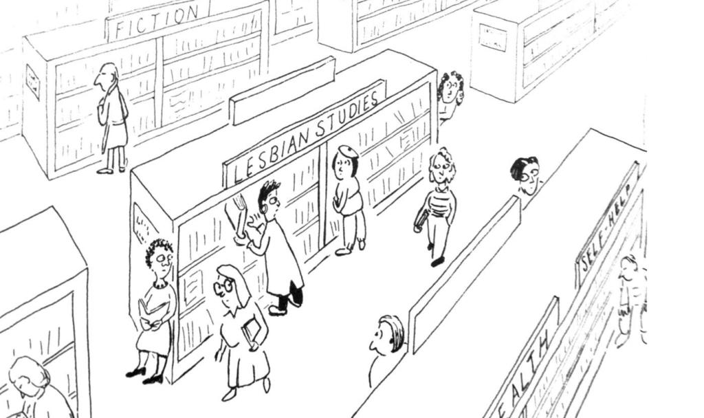 lesbian studies bibliotheque
