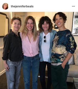 instagram jeannifer beals the l word reunion